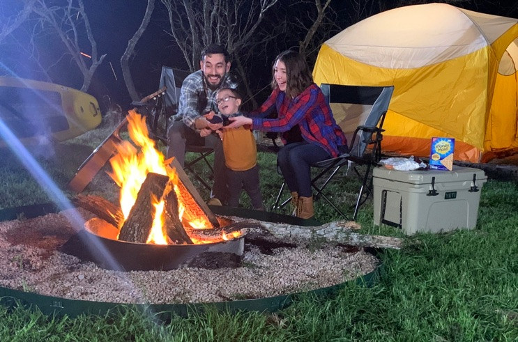 Tent Camping Texas Hill Country